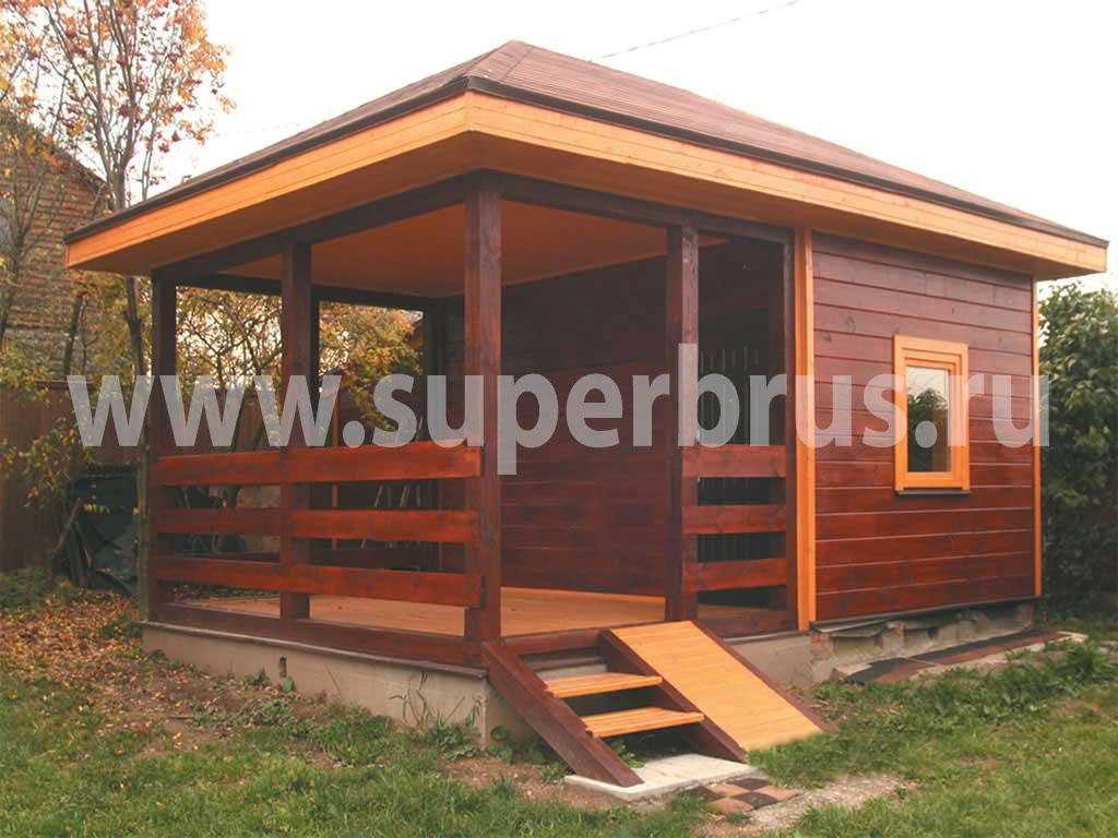 Как построить летний домик на дачи своими руками фото